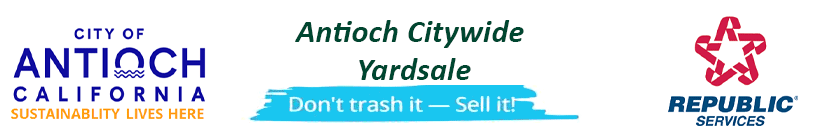 Antioch Citywide Garage Sale